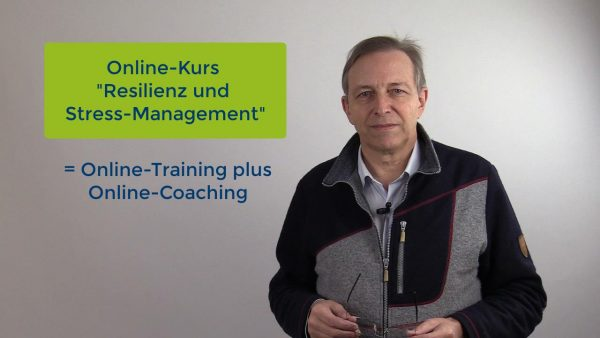 "Produktbild Online-Kurs ""Resilienz und Stress-Management"""