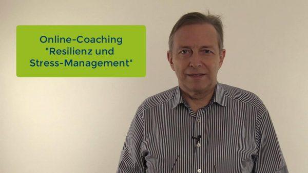 """Produktbild Online-Coaching """"Resilienz und Stress-Management"""""""