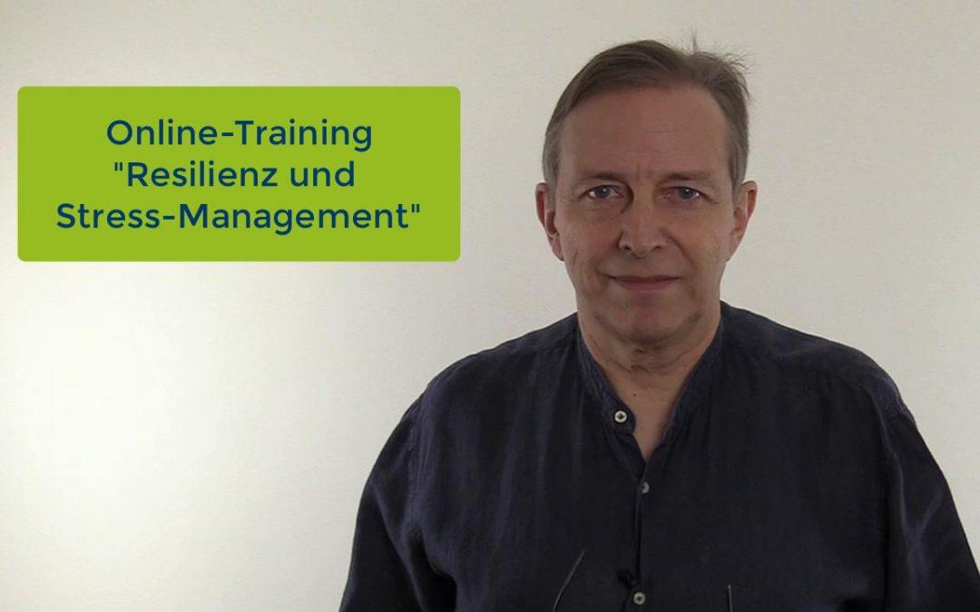 """Online-Training """"Resilienz und Stress-Management"""""""